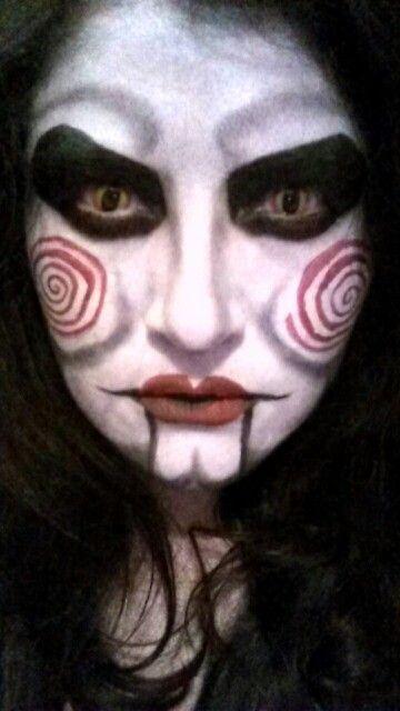 Jigsaw puppet - halloween costume