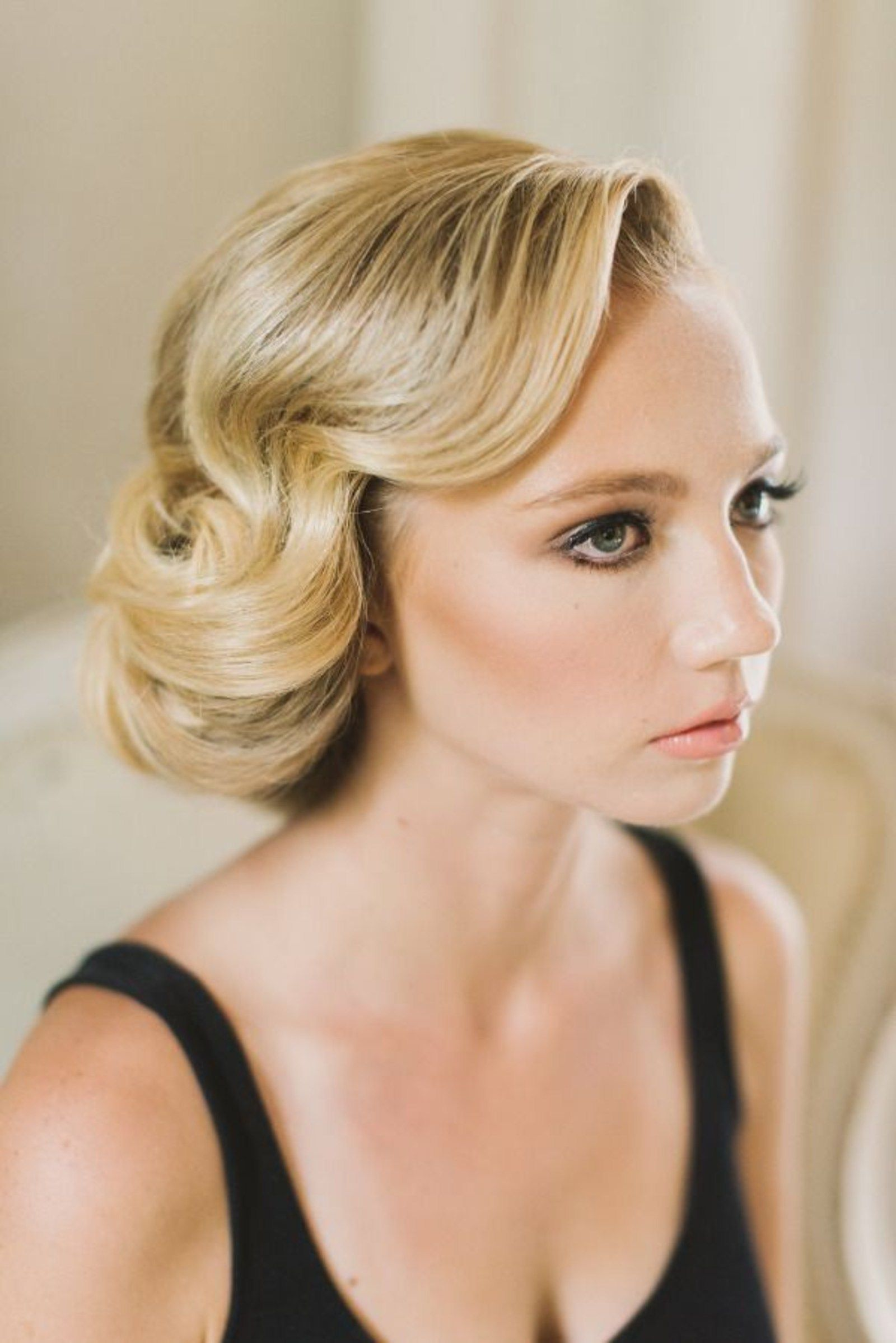 1950s Updo Hairstyles For Long Hair Classic Wedding Hair Vintage Hairstyles Wedding Hairstyles Updo