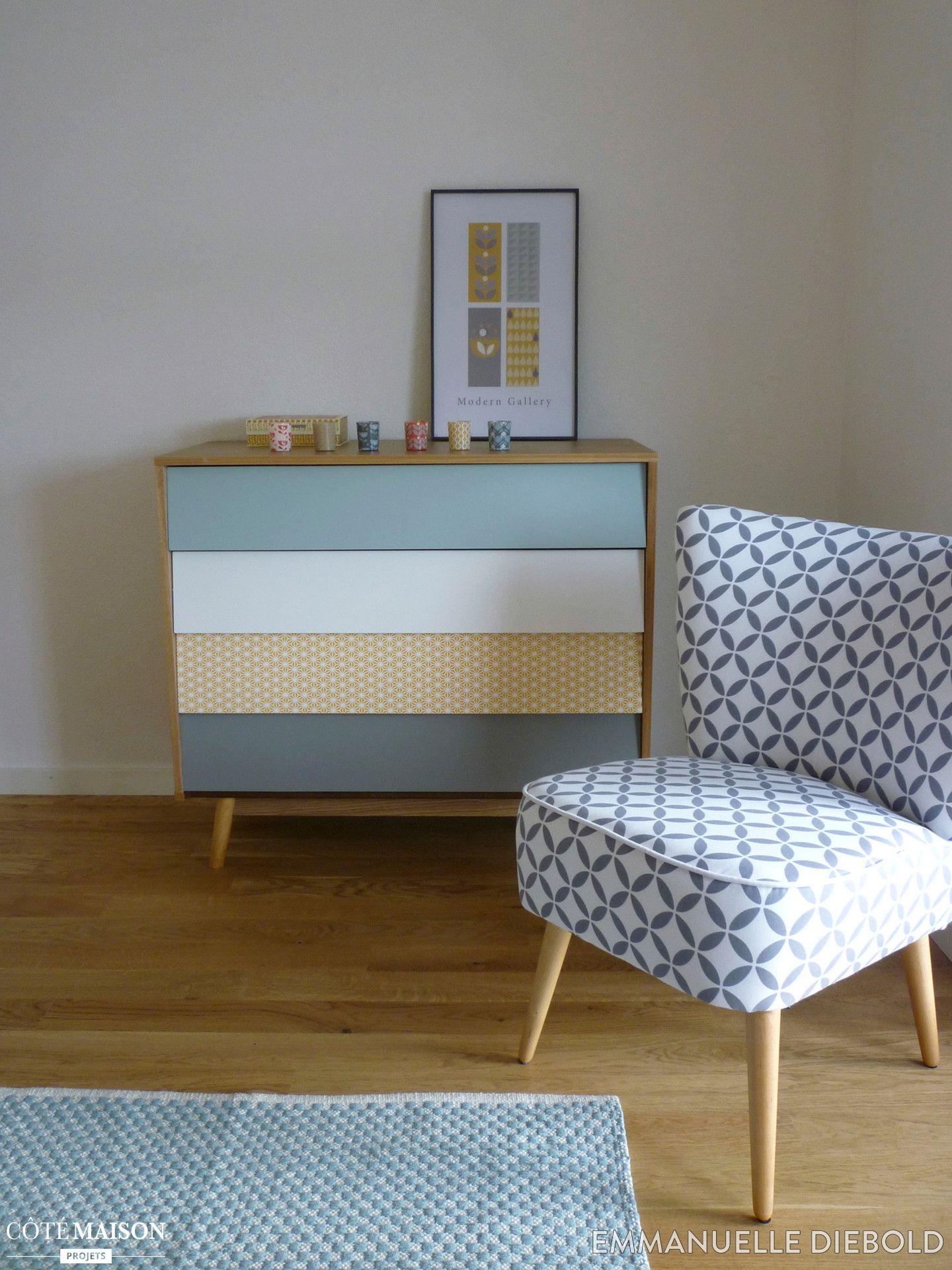 Du Mobilier Neo Vintage Scandinave Pour Le Salon
