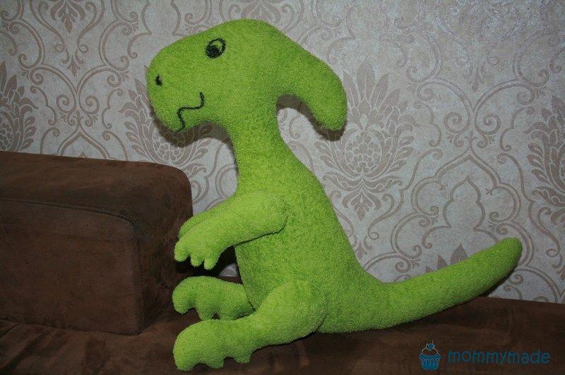 Dino nähen | mommymade Dinos and Dragon | Parasaurolophus | ebook ...