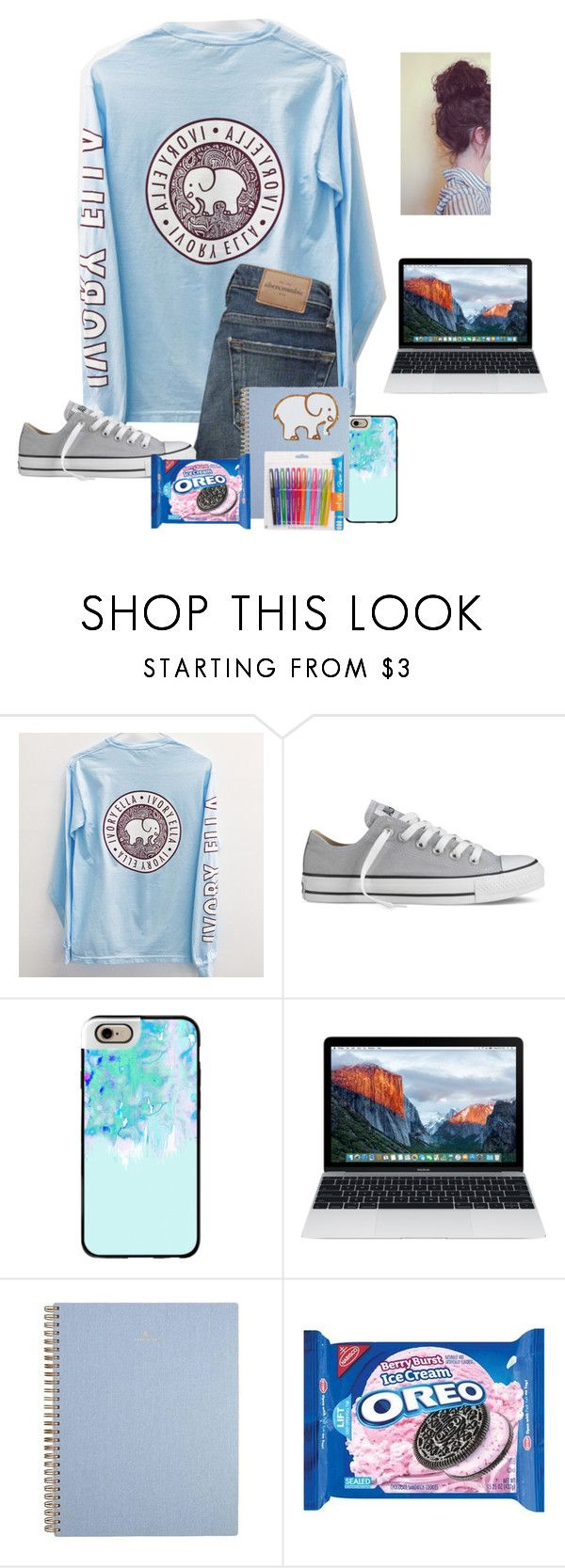 """Kinda cluttered but oh whale"" by raquate1232 ❤ liked on Polyvore featuring Converse, Casetify and Paper Mate"