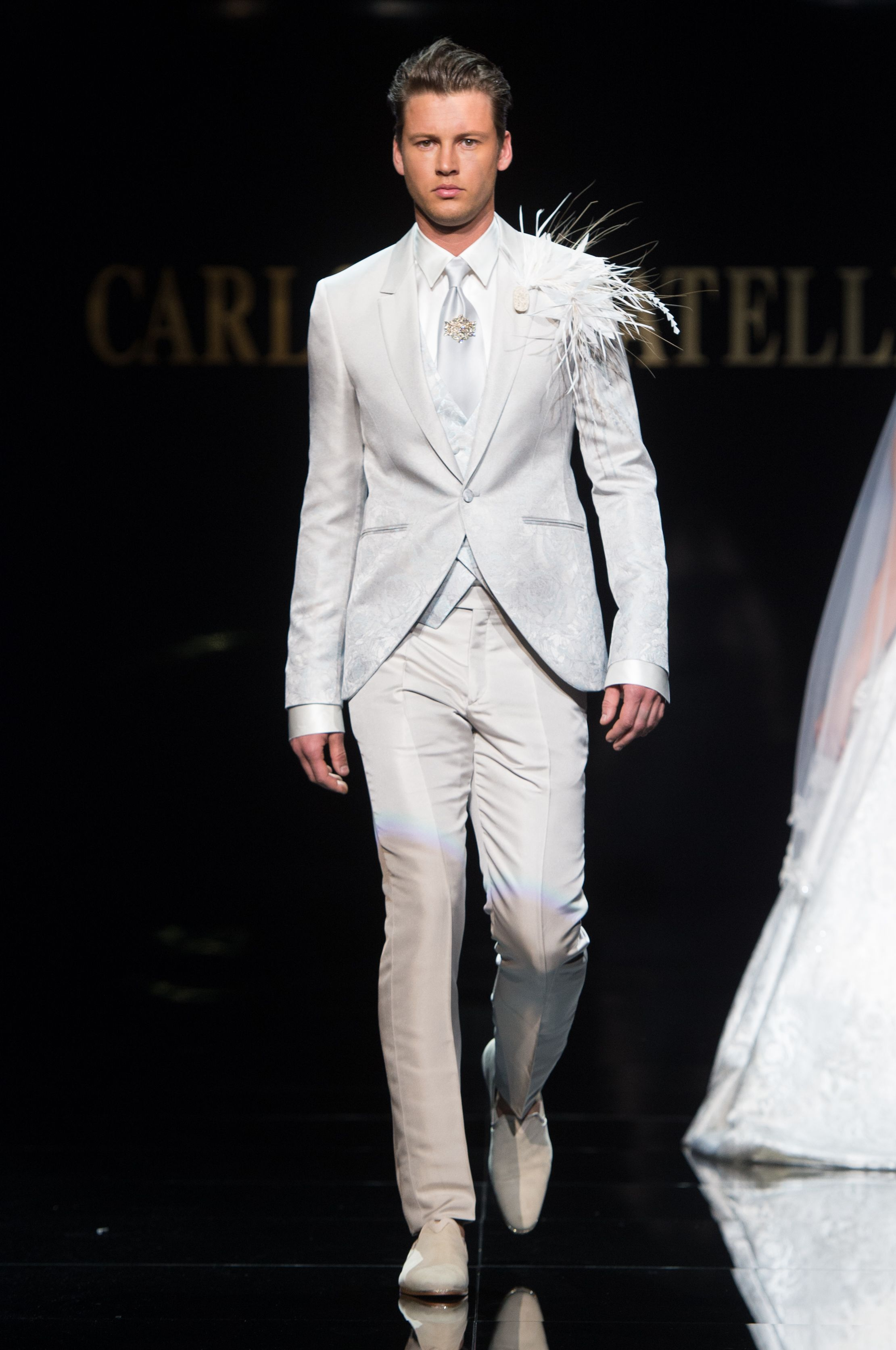 Carlo pignatelli fashion show wedding fashionshow groom