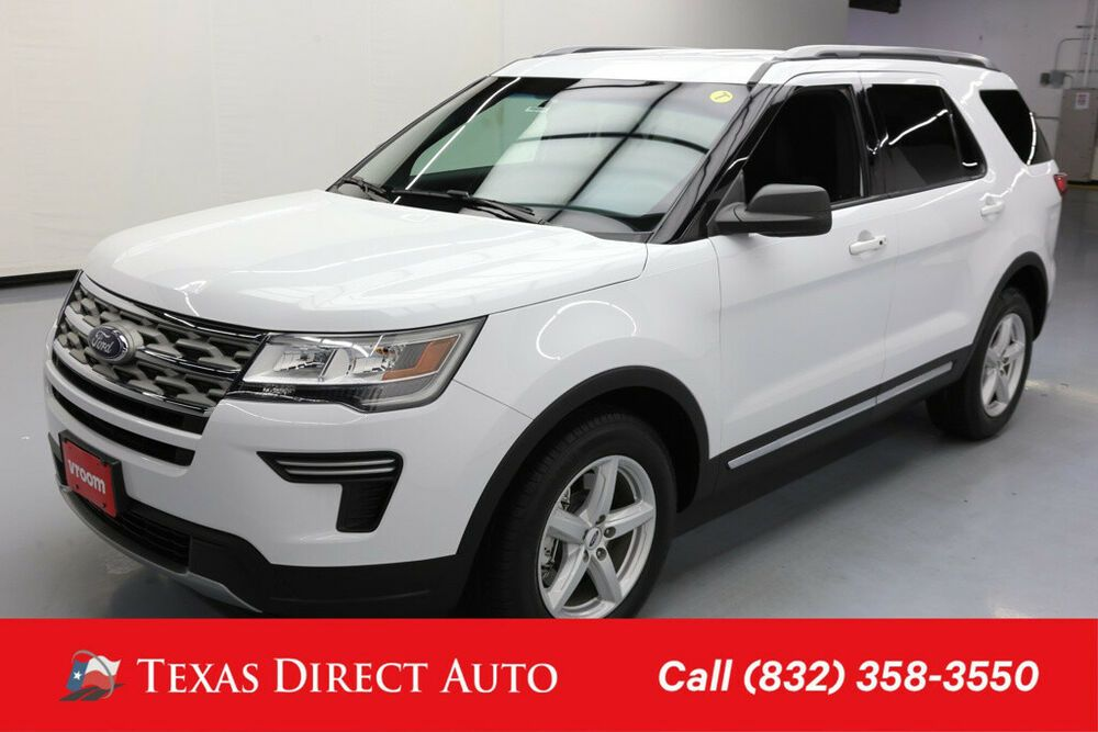 Ebay Advertisement 2018 Ford Explorer Xlt Texas Direct Auto 2018