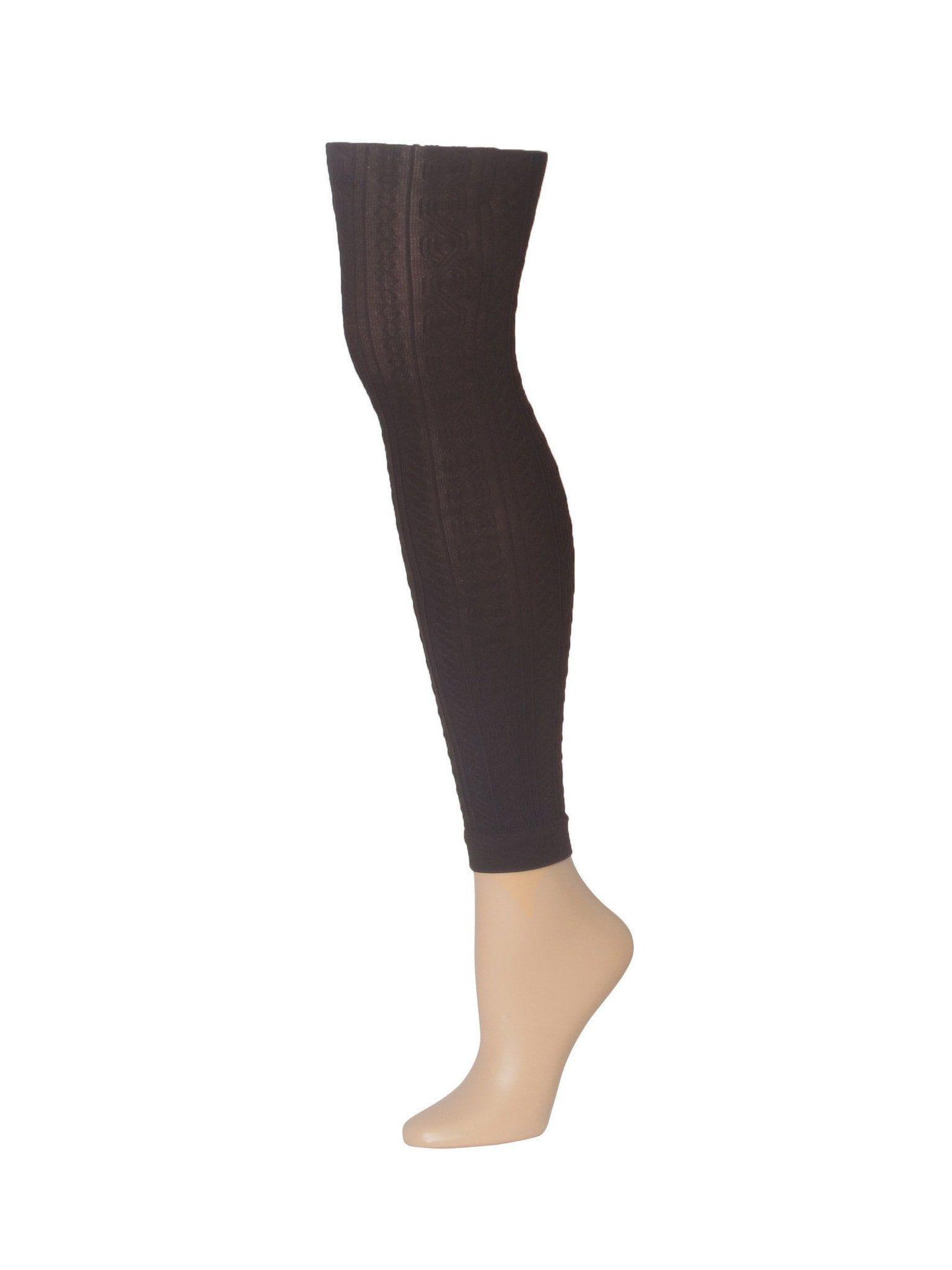 6b63fde5c MeMoi Textured Footless Tights MeMoi Women s Tights - Hosiery - Pantyhose  Queen1 Queen2   Black MO 323 Tights