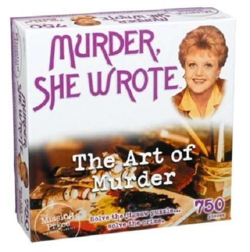 Missing Piece Mystery Puzzle Murder She Wrote The Art of Murder 750 Pieces New #RoseArt #murdershewrote #theartofmurder #jigsaw
