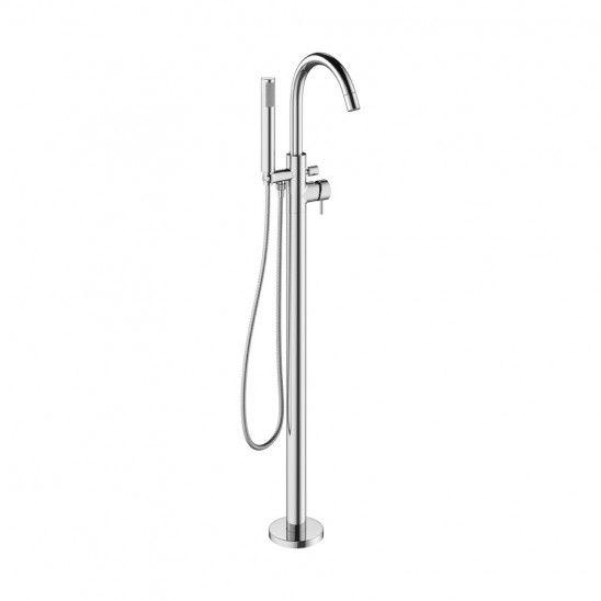 Mpro Floor Mount Tub Filler With Handshower Bath Shower Mixer