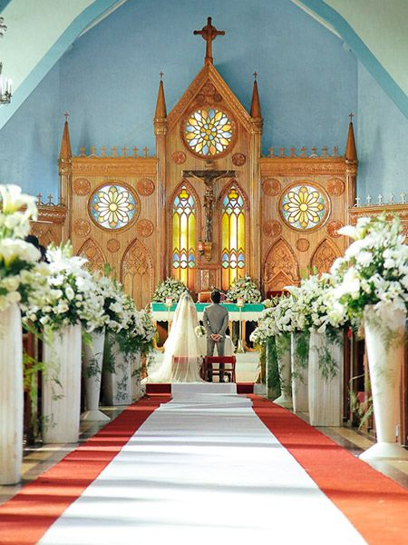 130 spectacular wedding decoration ideas churches aisle style wedding decoration ideas beautiful wedding decor wedding planning ideas etiquette bridal guide magazine junglespirit Image collections