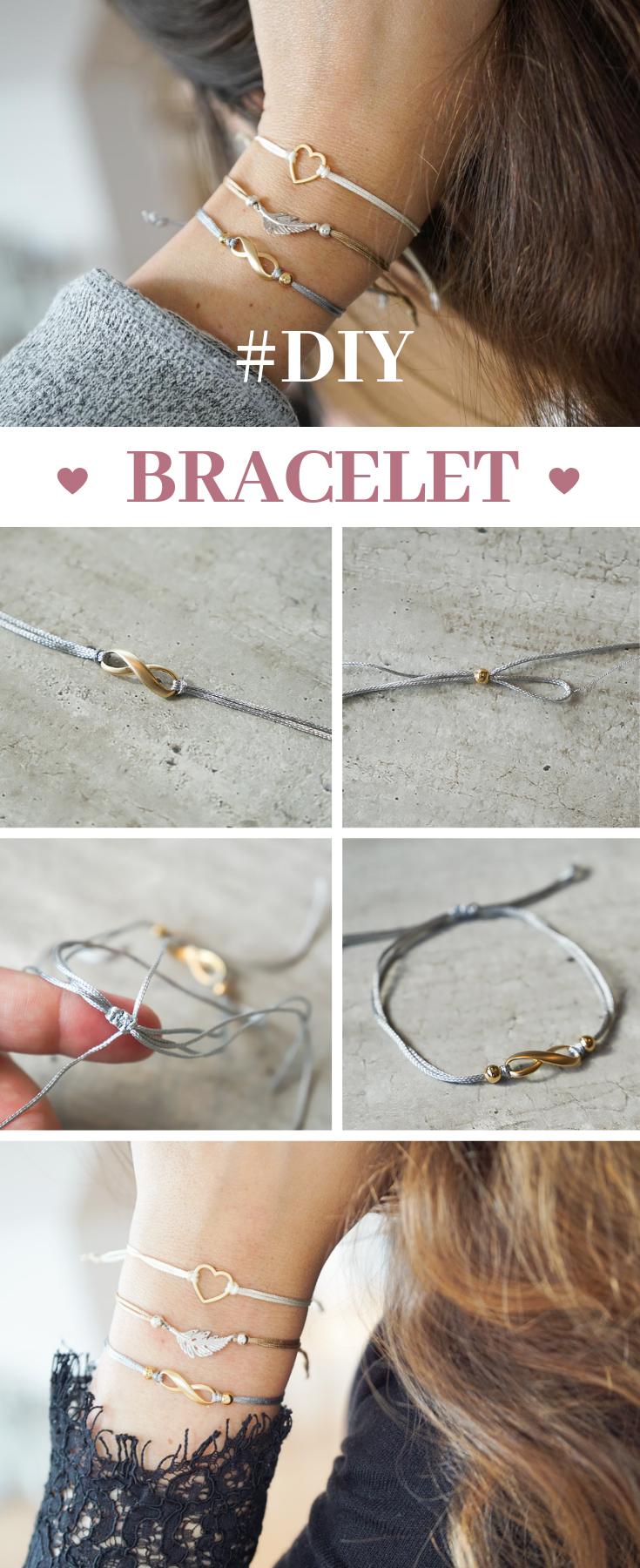 Photo of Simple DIY bracelets with slide closure   Schmuck Blog Magazin