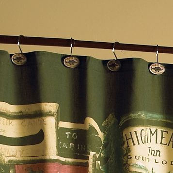 Rather Be Fishing Shower Curtain Hooks Set Of 12 Clearance