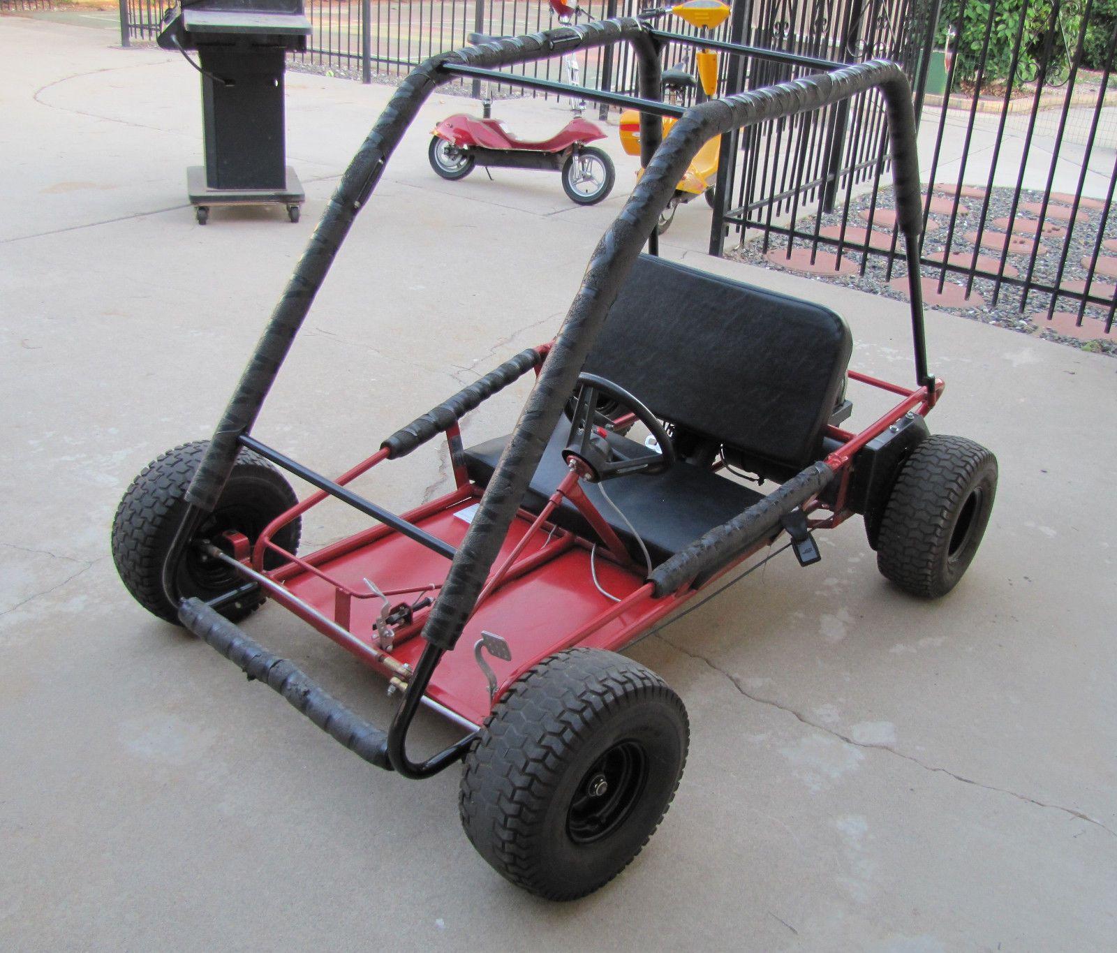 details about working kango electric go kart go cart. Black Bedroom Furniture Sets. Home Design Ideas