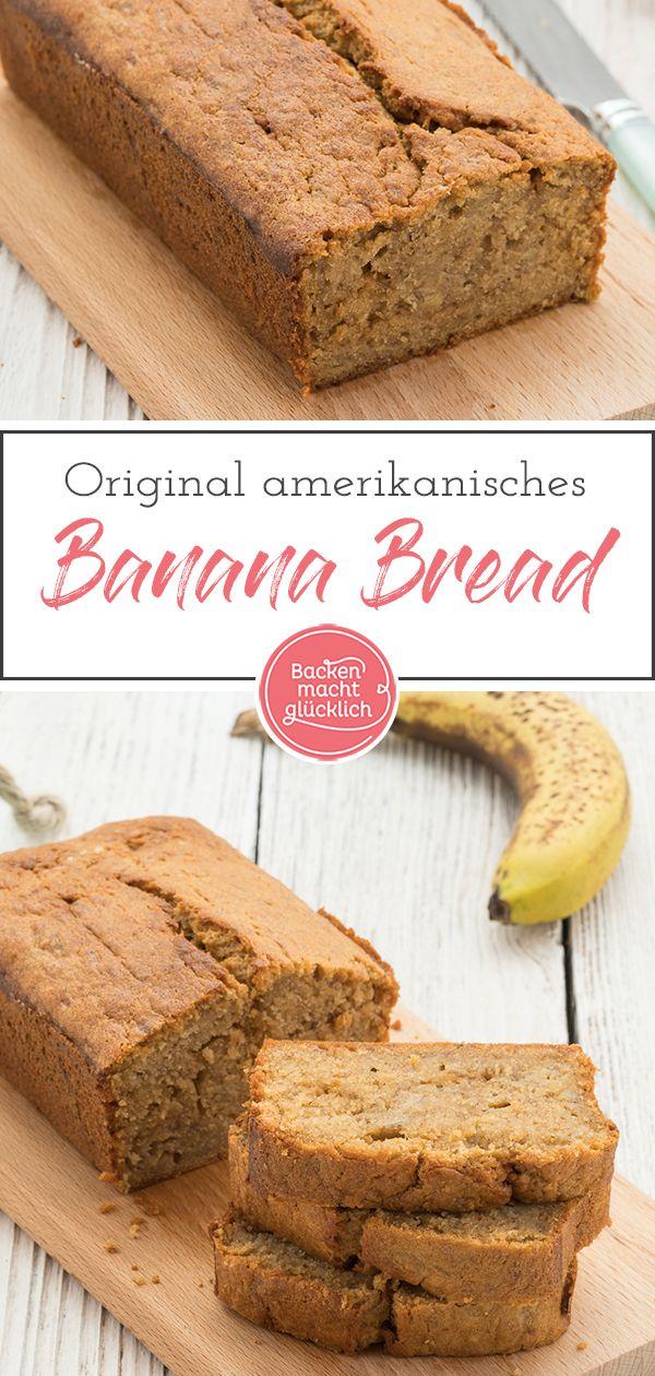Das beste Bananenbrot-Rezept | Backen macht glücklich