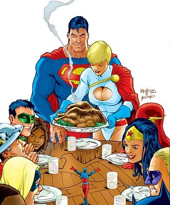 Image result for dc comics thanksgiving