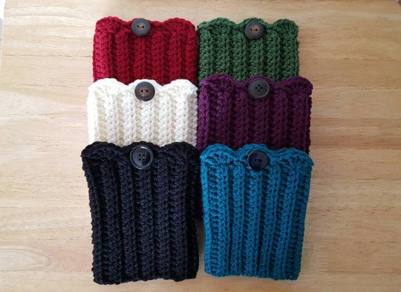 Crochet Boot Cuffs Boot Toppers Boot Socks by TeriandNicole