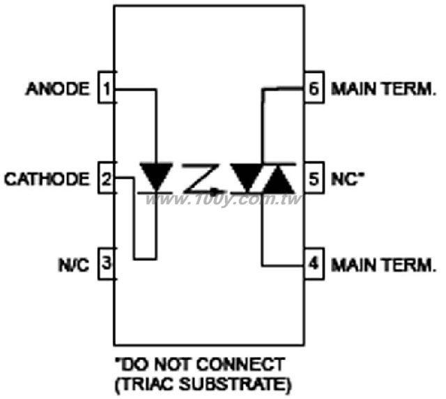 moc3010 opto isolator