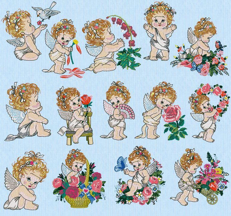 15 Angel Designs, Morehead Cherished Angels, Amazing