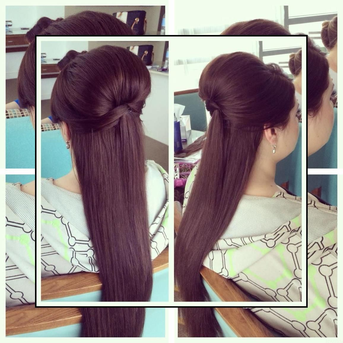 Hairstyles For Long Hair How To Make Hair Soft And Straight Open Hair Hairstyles For Straigh Straight Hairstyles Sleek Straight Hairstyles Sleek Hairstyles