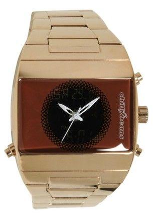 7eca6585c43 Relógio em dourado (Chilli Beans)