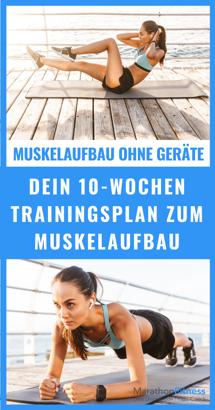 Muskelaufbau ohne Geräte #weighttraining