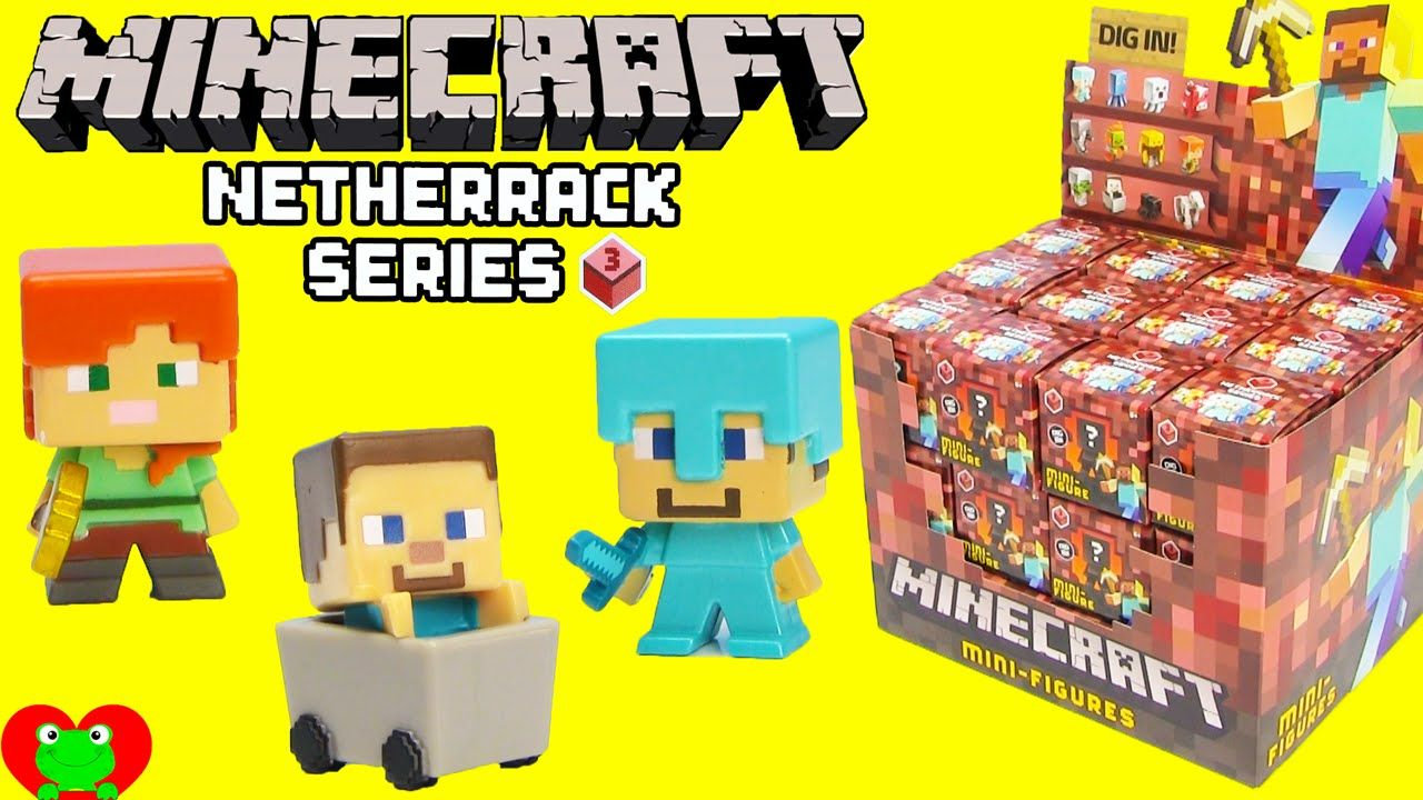 Minecraft Netherrack Series 3 Mystery Pack