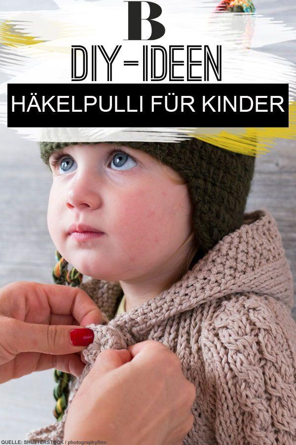Kinderpullover häkeln: So geht's |