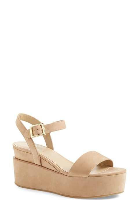 c7e5cc19c66e Delman  Angie  Platform Wedge Sandal (Women)