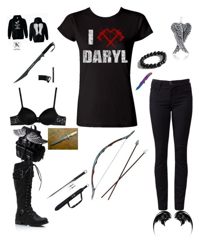 """""""for walking dead"""" by madilynn-feay ❤ liked on Polyvore"""