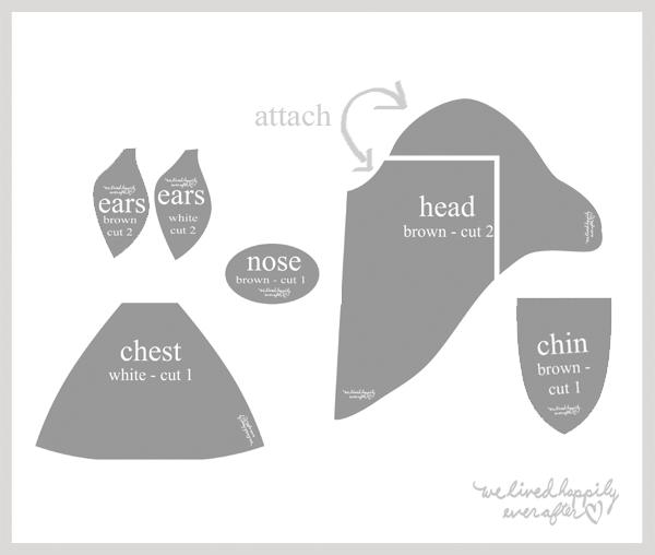 Patr n cabeza de reno en tela para pared solo imagen mu ecos costura patrones telas y - Cabezas animales tela ...