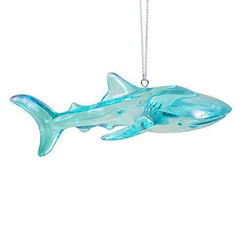 Chatham Summer Shark Christmas Ornament $9.99 fast free shipping! - Chatham Summer Shark Christmas Ornament $9.99 Fast Free Shipping