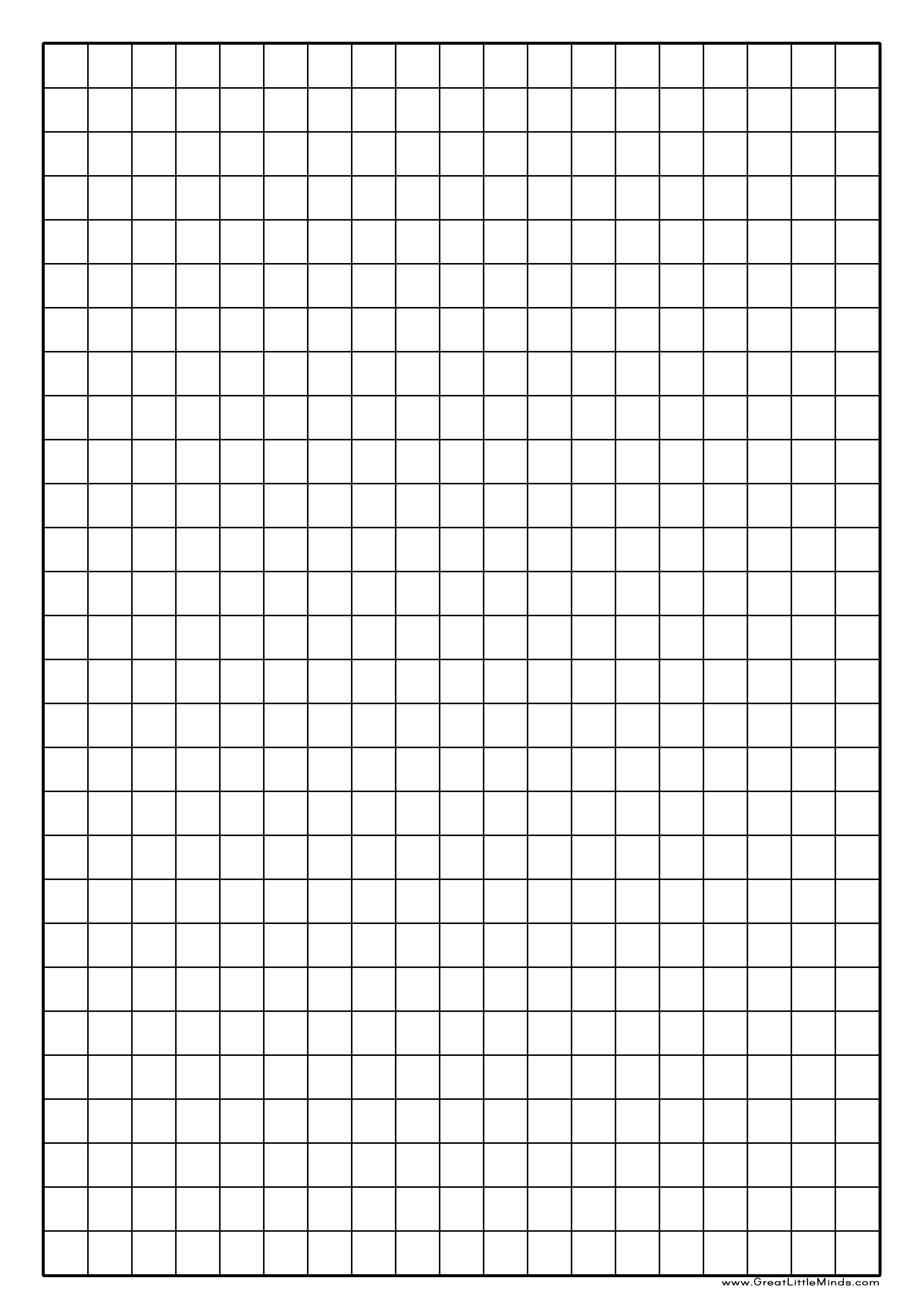 Centimeter Grid Paper Printable