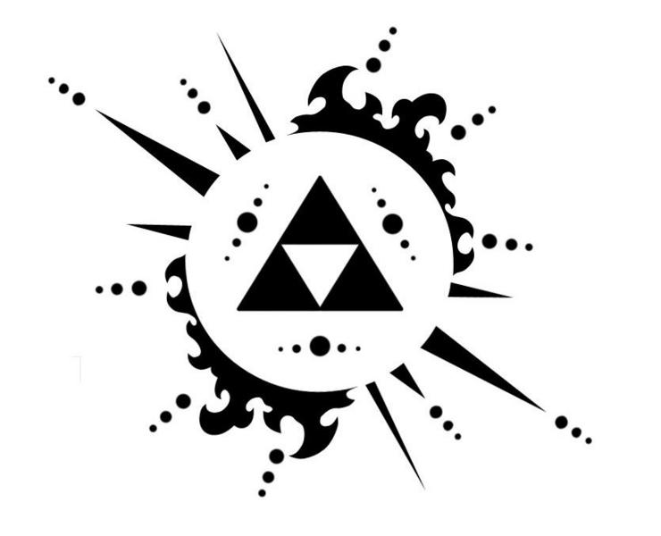 zelda symbolZelda Triforce Logo RocketDock ITaUfQ8y (With