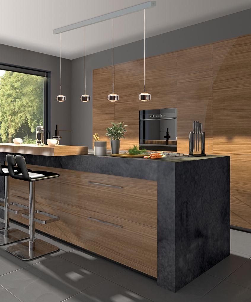 Top Light Puk Maxx Choice Drop Pendelleuchte 15 Köpfe  Moderne