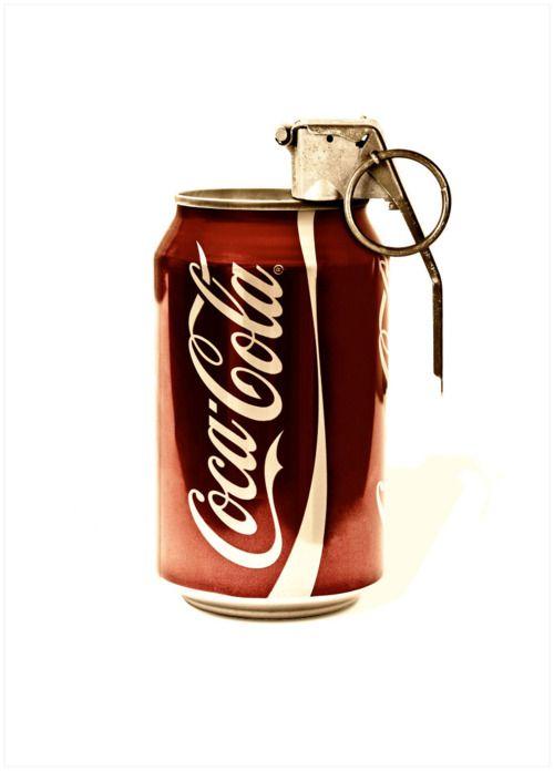 Contrapublicidad CocaCola | Regràfica | Autor desconocido