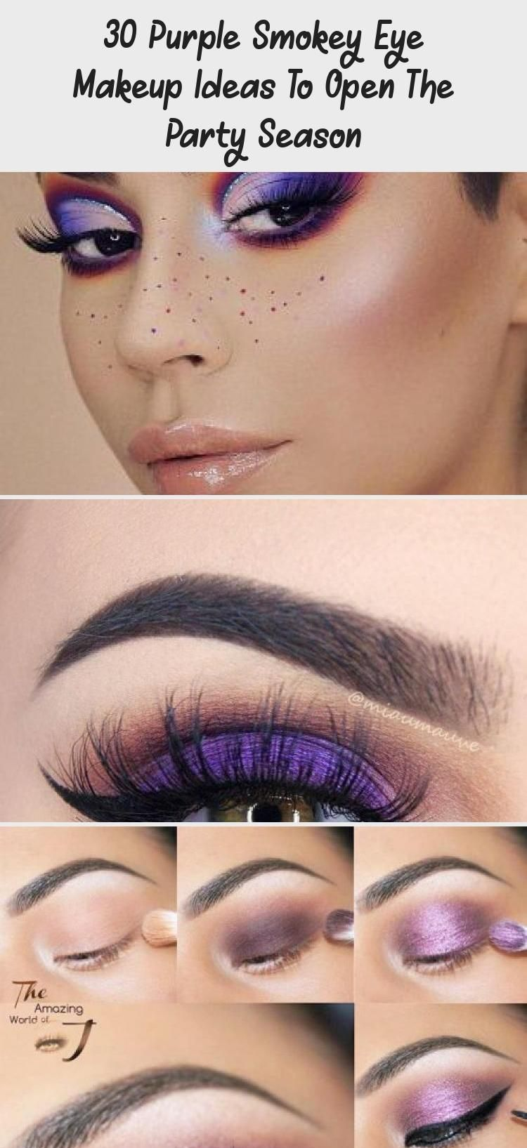 Photo of 30 Purple Smokey Eye Makeup Ideas To Open The Party Season – Beauty İdeas