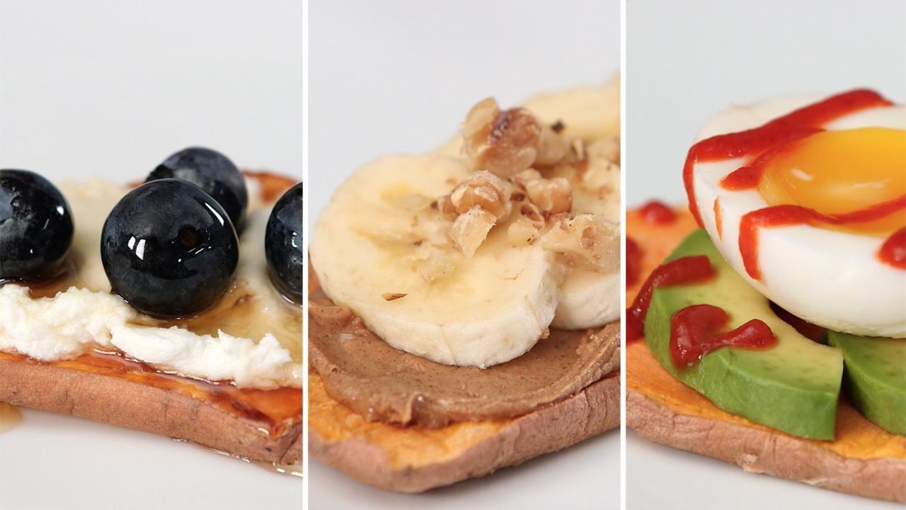 Food Hack: Make Sweet Potato Toasts