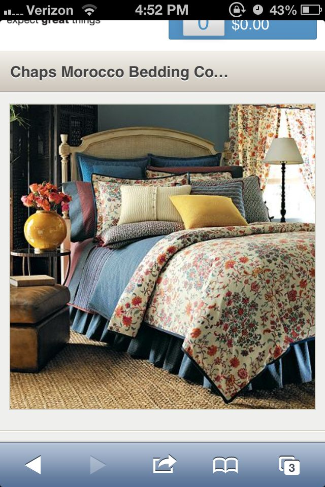Chaps Morocco Bedding Kohls Love That Its Rustic And Really