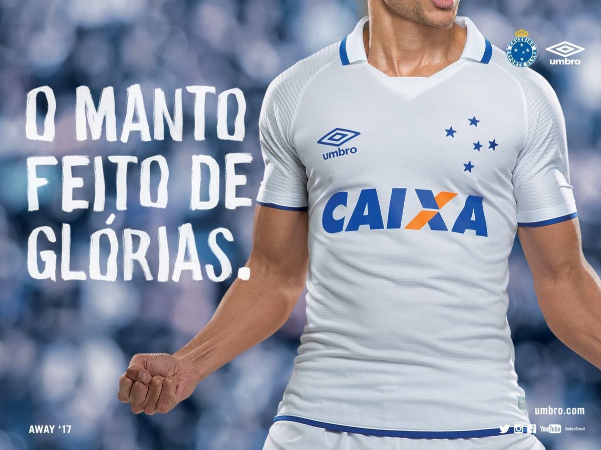 Camisas do Cruzeiro 2017-2018 Umbro  834064aad9415