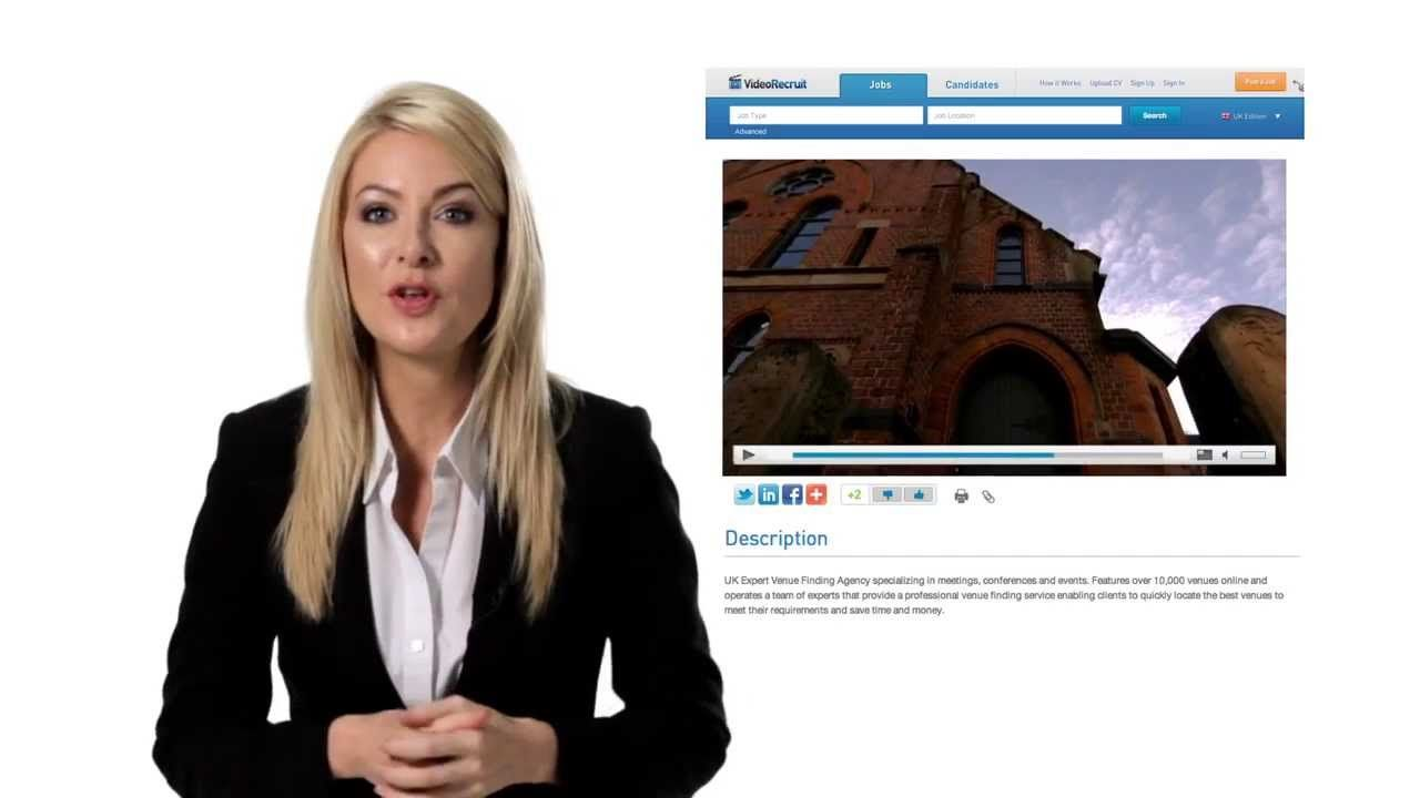 """""""Create Video CV for FREE"""" video_recruit Youtube, Free"""