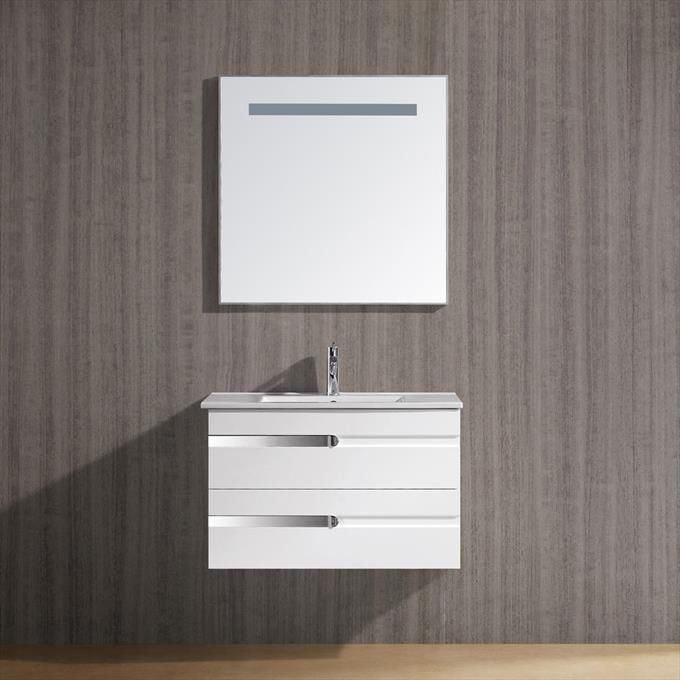 Bathroom Vanity Za legion furniture za-20 temper glass butterfly frosted vessel sink