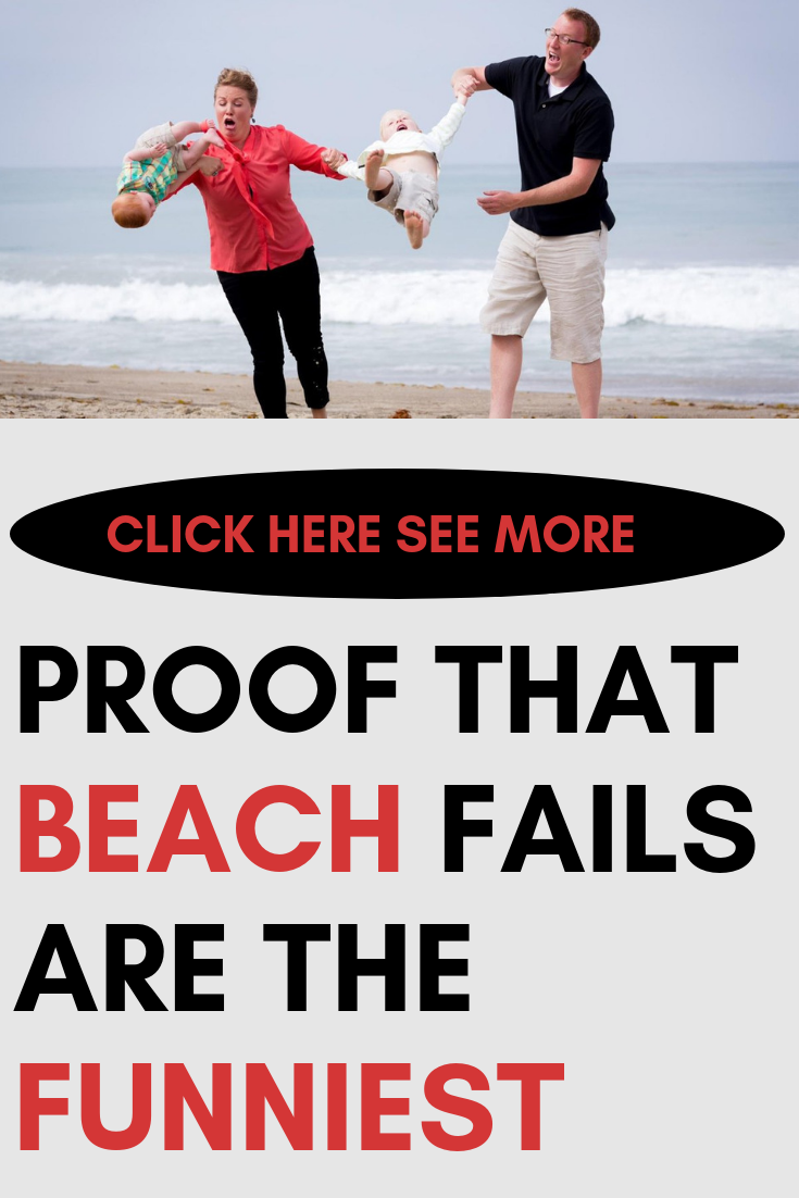 Beach Photos That Might Not Make the Family Christmas Card