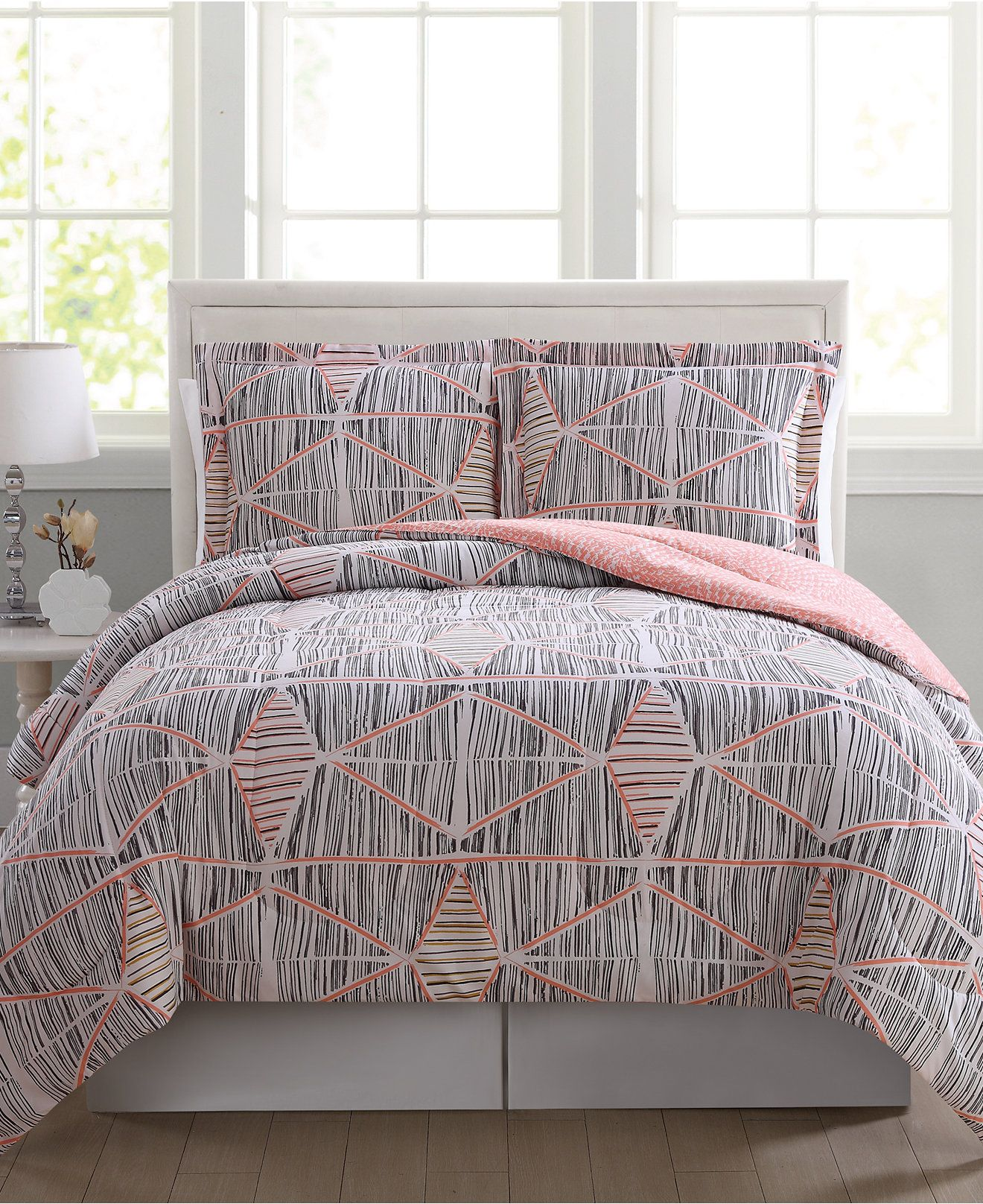 Marina Reversible Comforter Mini Sets - Bed in a Bag - Bed ...