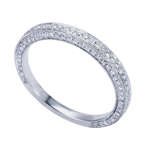 Pin By Kiyomi Duncan On Wedding Diamond Wedding Bands Jewelry Rings Engagement White Gold Diamond Band