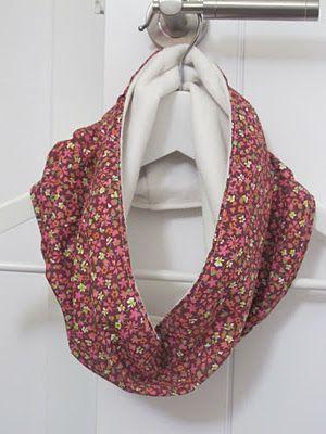 neck warmer   Corte y confeccion   Pinterest   Pashminas, Costura y ...