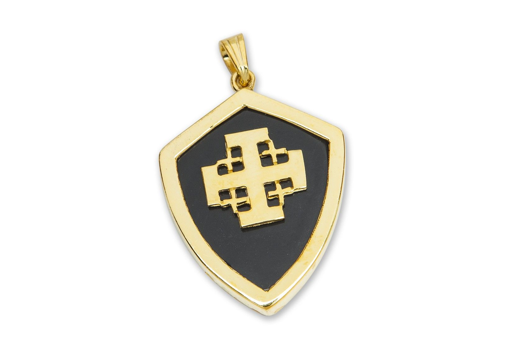 brothers jerusalem lama cross pendant product