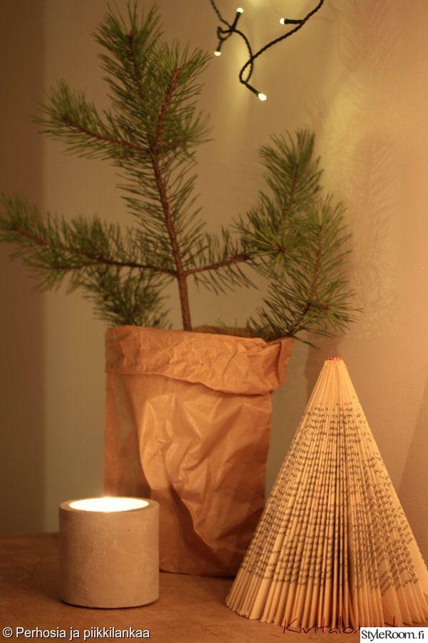 Luukku 11: Tsinnia Tässäpä kaksi vaihtoehtoa siihen, miten aloittaa joulukuusifiilistely jo nyt. Eikä tarvitsisi paljoa huolehtia neulasten varisemisesta.. #joulukotikalenteri #joulu #styleroom #diy