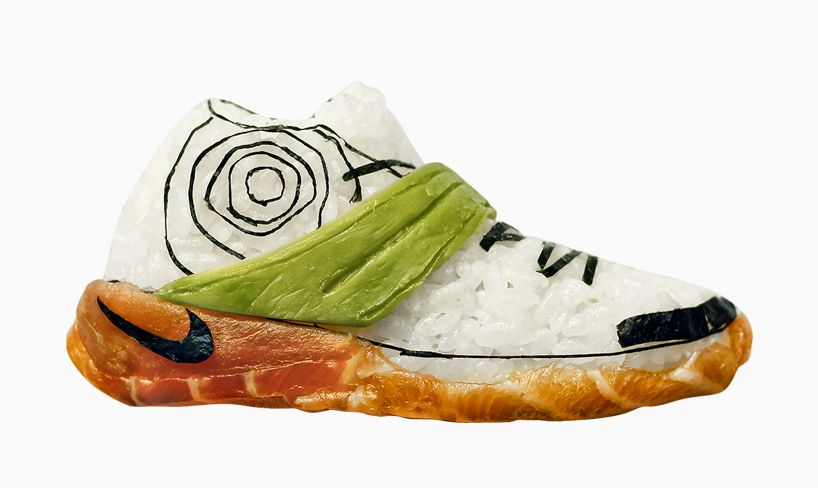 sushi sneakers are a thing | Sushi