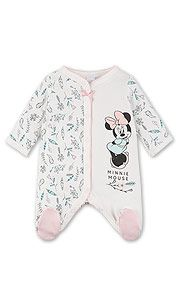 Pijama para bebés en blanco roto