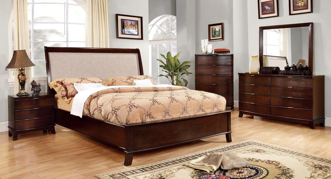 cm7333  mercer queen bed la discount furniture