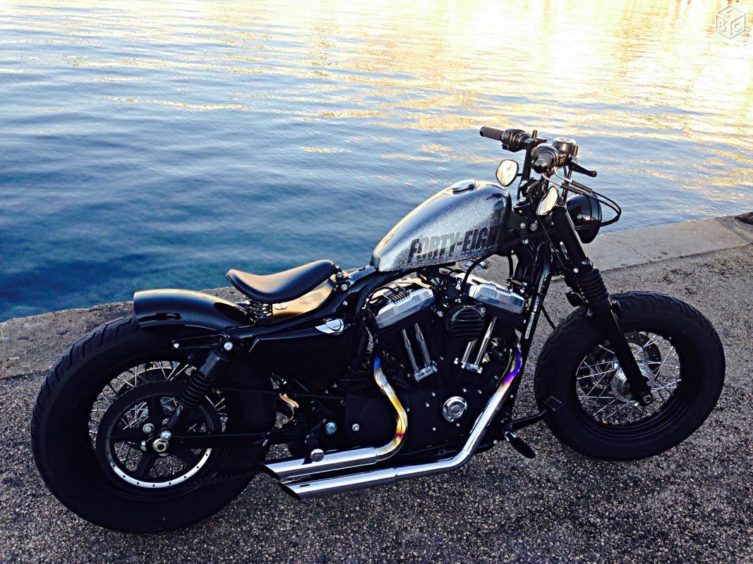 Forty Eight Bobber Motos Bouches Du Rhone Leboncoin Fr Motos Customizadas Motos Duas Rodas