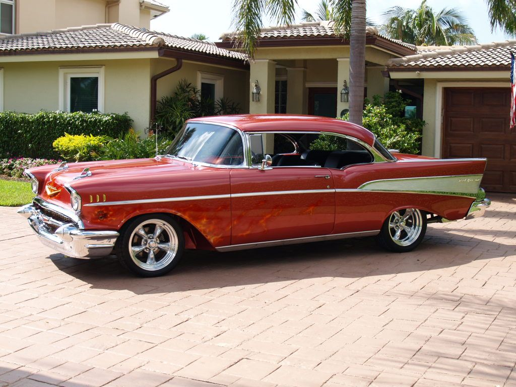 1957 Chevrolet I have an old one like this....just need money and ...