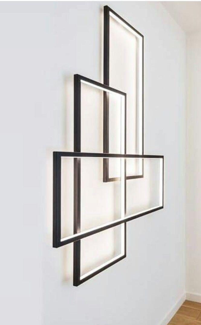 top pinterest wandleuchten hausbau. Black Bedroom Furniture Sets. Home Design Ideas